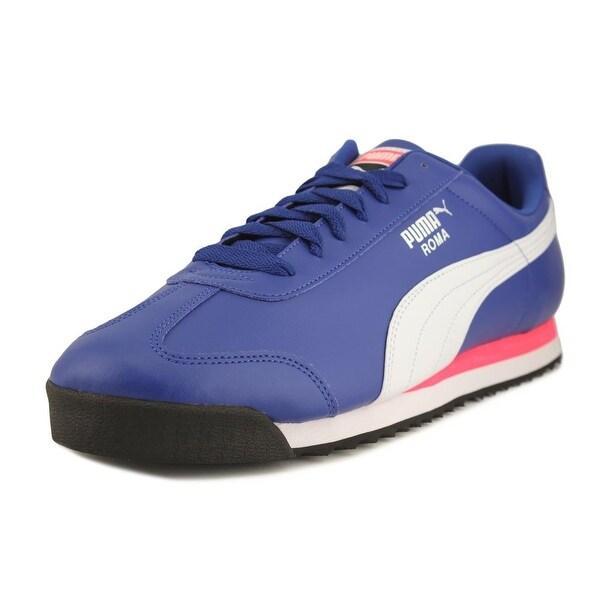 Puma Roma Basic Men Round Toe Synthetic Blue Walking Shoe