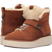 Coach Womens Urban Hiker Suede Closed Toe Ankle Cold Weather Boots