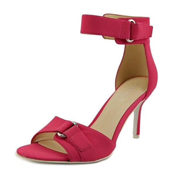 Nine West Gainey Women Open Toe Synthetic Pink Sandals
