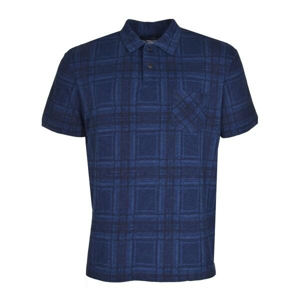 Polo Ralph Lauren RL Cotton Polo Shirt X-Large Blue and Black Plaid