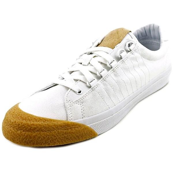 K-Swiss Irvine Men Round Toe Canvas White Sneakers