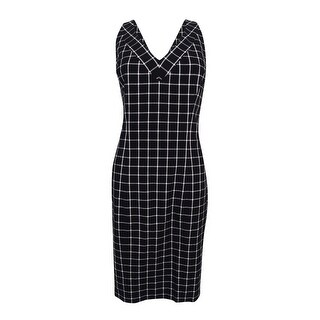 MICHAEL Michael Kors Women's Geo-Print Sheath Dress