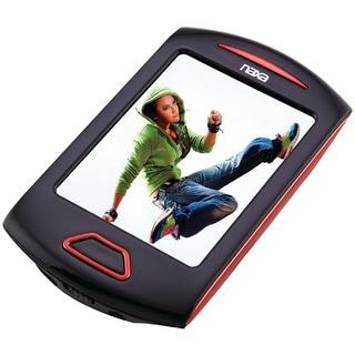 Naxa NAXNMV179RDR NAXA Electronics NMV-179 Portable Media Player with 2.8-Inch Touch Screen, Red