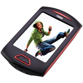 Naxa NAXNMV179RDR NAXA Electronics NMV-179 Portable Media Player with 2.8-Inch Touch Screen, Red