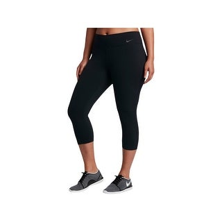 Nike Womens Athletic Leggings Cropped Fitness