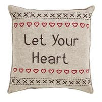Let Your Heart Merry Little Christmas Pillow, Set of 2 - 1