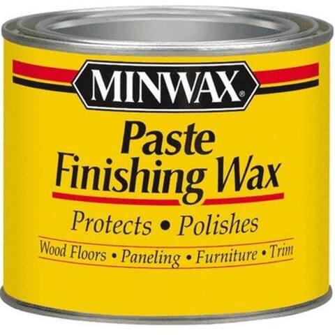 Minwax 78600 Paste Finishing Wax, Special Dark, 1 lbs
