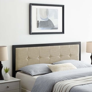 Link to Teagan Tufted King Headboard Similar Items in Bedroom Furniture