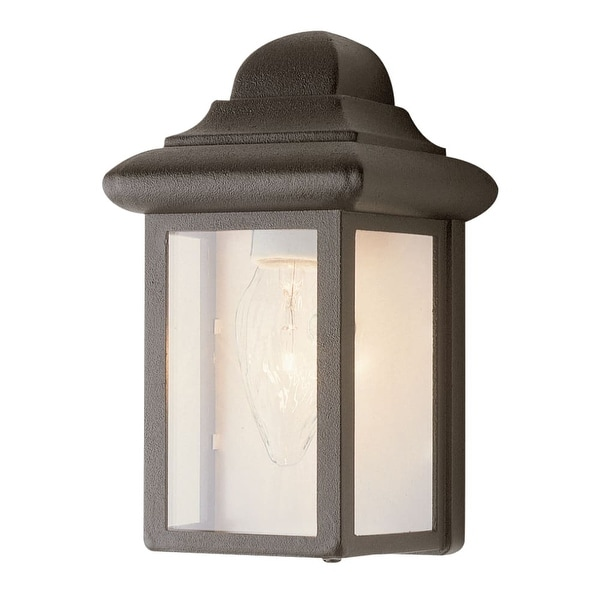 Trans Globe Lighting 44835 1-Light Down Lighting Outdoor Mini Wall Washer from the Outdoor Collection