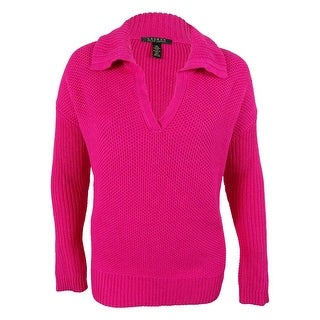 Ralph Lauren Women's Collared Sweater