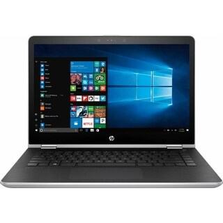 "Manufacturer Refurbished - HP Pavilion x360 14m-ba013dx 14""Touch Laptop Intel i3-7100U 2.4GHz 6GB 500GB W10"