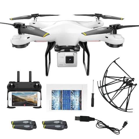 DM DM106 Drone WIFI FPV RC Quadcopter with 720P Camera Altitude Hold RTF