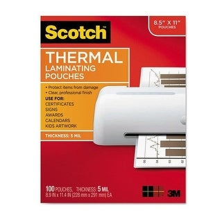 3M Mobile Interactive Solution - Thermal Pouches 8.9 In X 11.4 In