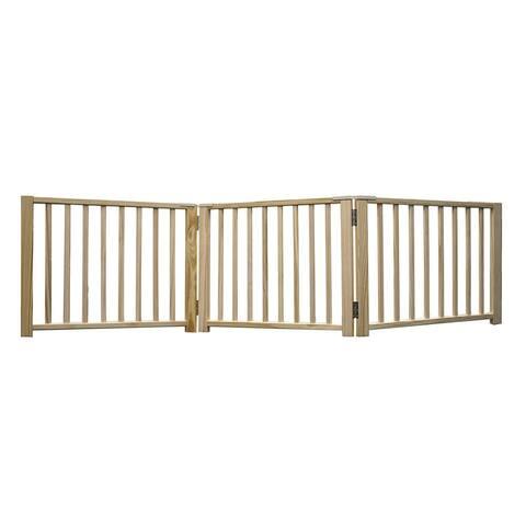 Four Paws Smart Design Folding Freestanding Gate 3 Panel