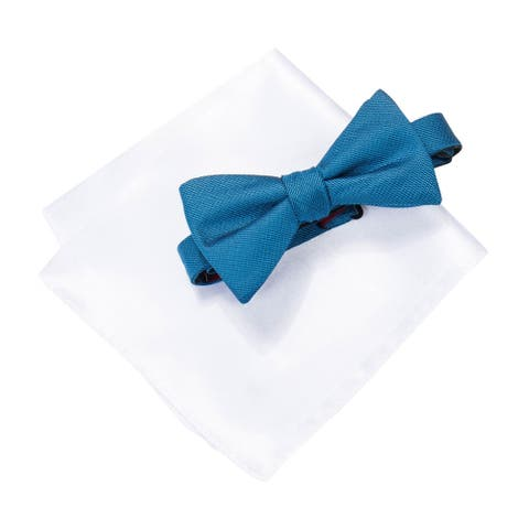 Alfani Mens 2-Piece Neck Tie Set, blue, One Size - One Size