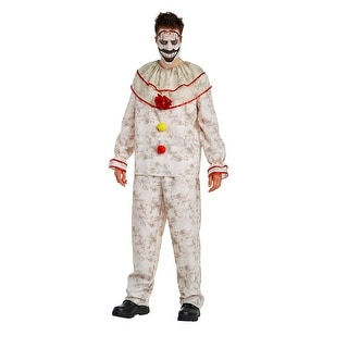 American Horror Story: Freak Show Twisty The Clown Adult Costume (Option: M)