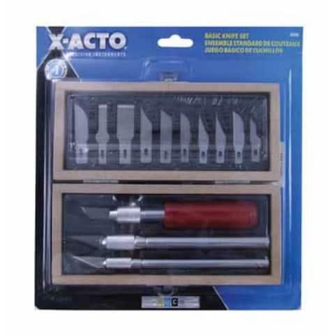 X-Acto X5282 Basic Knife Set, 16 Piece