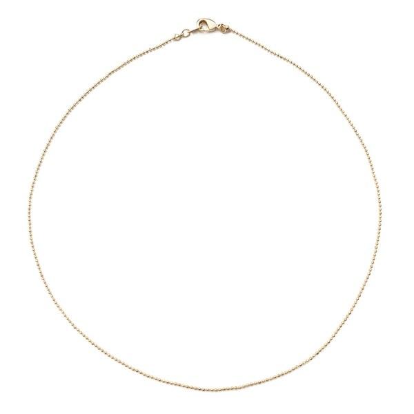 Honeycat Thin Ball Chain Choker