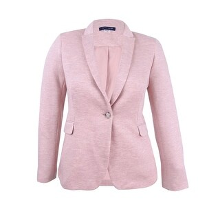 Tommy Hilfiger Women's One-Button Blazer - Pale Rose