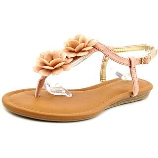 Rampage Dandylion Women Open-Toe Synthetic Pink Slingback Sandal