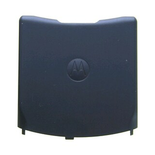 OEM Motorola V3 Razr 06 Battery Door Cosmic Universe BLUE