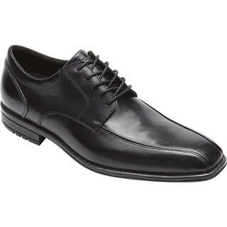 Rockport Men's Fairwood Macudam Lace Black Leather