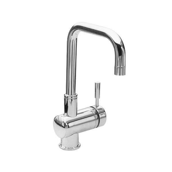 Newport Brass 2007 East Square Single Handle WaterSense Certified Bar Faucet with Metal Lever Handle