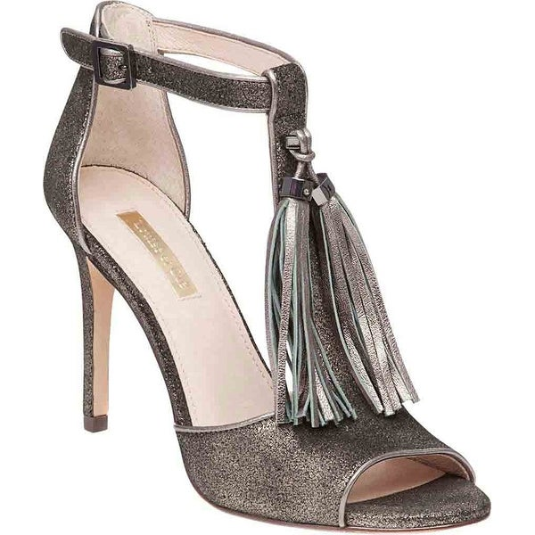Louise Et Cie Womens Tage Leather Open Toe Casual Ankle Strap Sandals