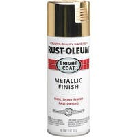 Rust-Oleum Gold Mtlc Spray Paint 7710-830 Unit: EACH
