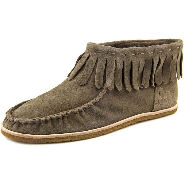 Splendid Bennie Women Round Toe Suede Brown Bootie