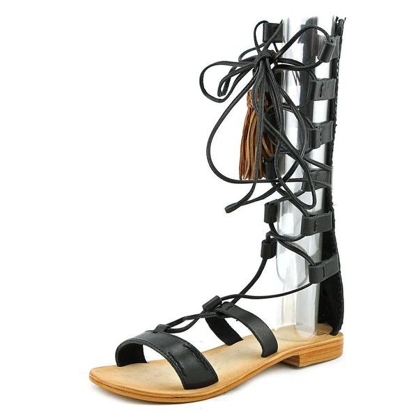 MTNG 94440 Women Vaqueta Black Sandals