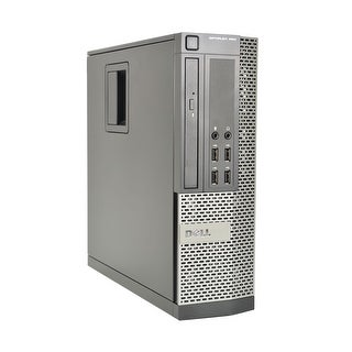 Dell OptiPlex 990-SFF Core i7-2600 3.4GHz CPU 8GB RAM 500GB HDD Windows 10 Computer (Refurbished)