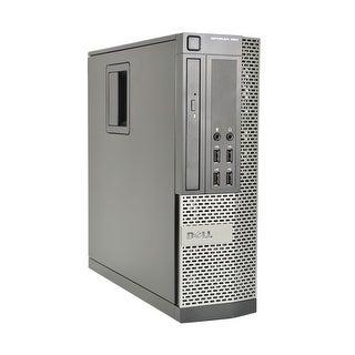 Dell Optiplex 990 Intel Core i7-2600 3.4GHz 2nd Gen CPU 8GB RAM 1TB HDD Windows 10 Pro Small Form Fa