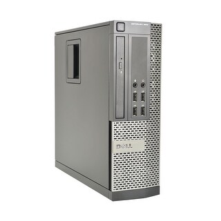 Dell Optiplex 990 Intel Core i7-2600 3.4GHz 2nd Gen CPU 8GB RAM 1TB HDD Windows 10 Pro Small Form Fa