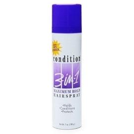 CONDITION 3-In-1 Hairspray Aerosol Maximum Hold 7 oz