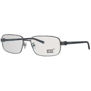 Montblanc MB0427/V 014 Silver Rectangular Opticals - 57-17-140