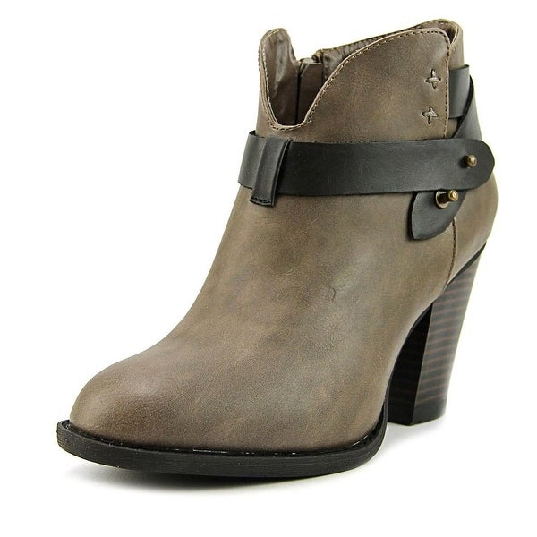 XOXO Kaitlyn Women Round Toe Synthetic Bootie