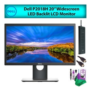 "Link to Dell 20"" (P2018H) Widescreen LCD Computer Monitor Deluxe Bundle Similar Items in Monitors"