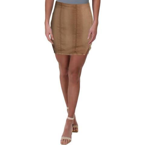 Free People Womens Mini Skirt Pull On Stretch - XS