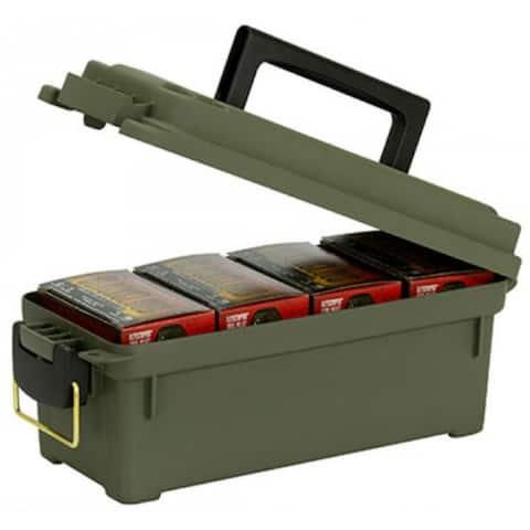 Planoa 1212-02 Shot Shell Ammunition Box, Green