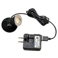 "Kenroy Home 32843 Micro LED Spot 1-Light 2"" Tall Spot Light 2 Pack with USB Power Pack"