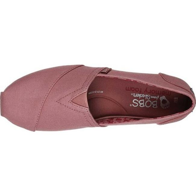 Skechers Women's BOBS Plush Peace and Love Raspberry