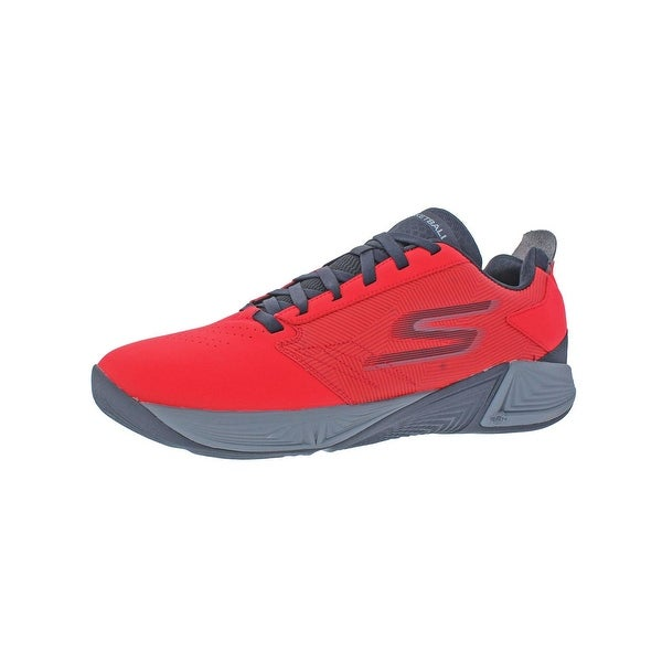 9b5dd26434f2 Skechers Torch LT Men  x27 s Synthetic Low Top Basketball Shoes Red Size 11