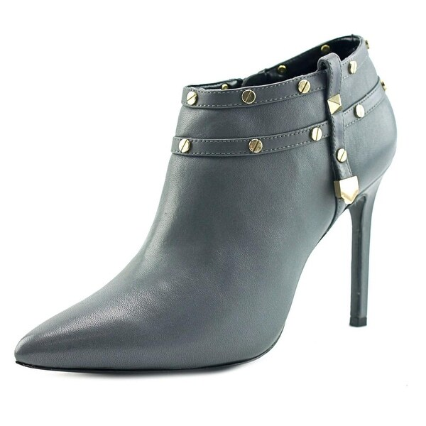 Charles David Cathy Women Pointed Toe Leather Ankle Boot