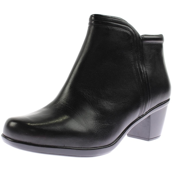 Naturalizer Womens Elisabeth Ankle Boots Leather Heel