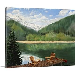 """Retreat"" Canvas Wall Art"
