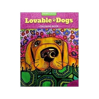 Design Originals Lovable Dogs Coloring Bk
