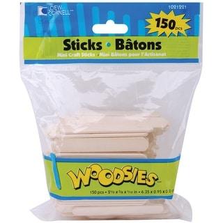"Woodsies Mini Craft Sticks-Natural 2.5"" 150/Pkg"