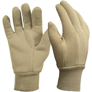Digz 77257-26 Garden Gloves With Mini Dots, Khaki, Medium