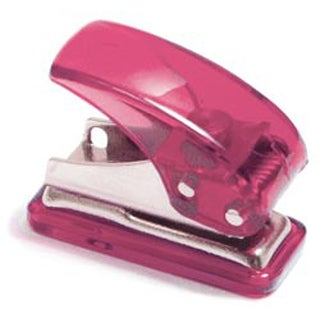 Assorted Colors - Mini Hole Punch
